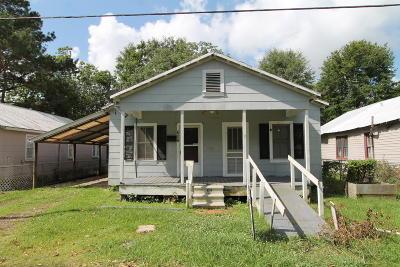 Ville Platte Single Family Home For Sale: 608 Vidrine Street