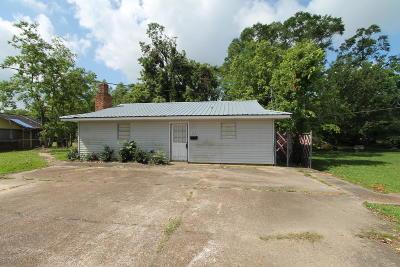 Ville Platte Single Family Home For Sale: 114 W Huey P Long Street