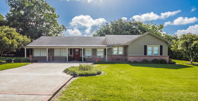 Abbeville  Single Family Home For Sale: 9033 La Hwy 343