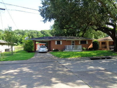 New Iberia Single Family Home For Sale: 1502 Anderson Street