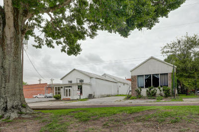 St Mary Parish Commercial For Sale: 605 & 607 Teche Drive