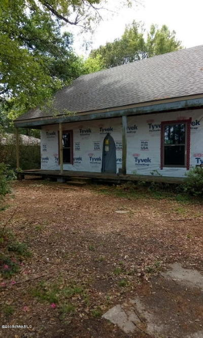 Lafayette LA Single Family Home For Sale: $107,000