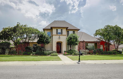 Lafayette Single Family Home For Sale: 209 Ambergris Lane