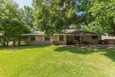 St Martinville, Breaux Bridge, Opelousas Single Family Home For Sale: 175 Dr Charlie Drive