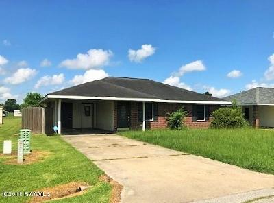 Lafayette LA Single Family Home For Sale: $99,900