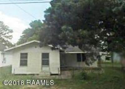 Carencro Single Family Home For Sale: 510 N Michaud Street