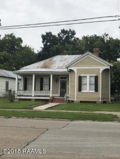 Franklin Single Family Home For Sale: 900 Iberia St