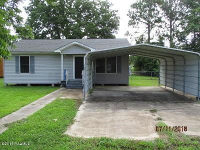 New Iberia Single Family Home For Sale: 4916 Brian Boulevard