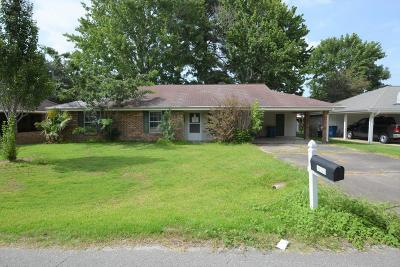 Duson Single Family Home For Sale: 112 Denette Drive