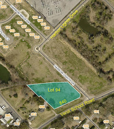 Lafayette Residential Lots & Land For Sale: 840 Verot School Road