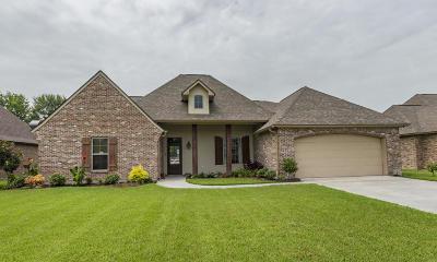 Carencro Single Family Home For Sale: 133 Ridge Run Lane
