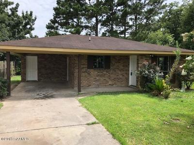 Carencro Single Family Home For Sale: 306 Bloomfield Drive