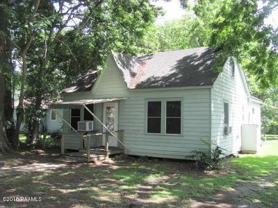 Jeanerette Single Family Home For Sale: 2130 Ritter Street