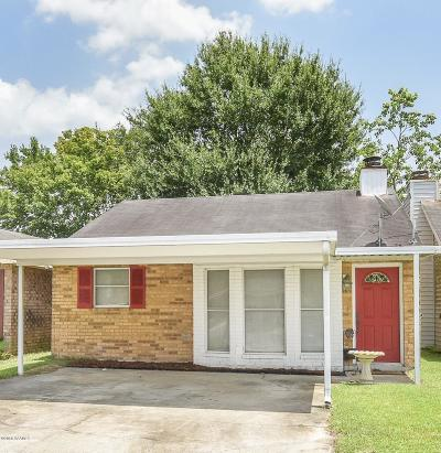 Lafayette Single Family Home For Sale: 157 Gena Marie Drive