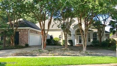 Lafayette Single Family Home For Sale: 209 E Peck Boulevard