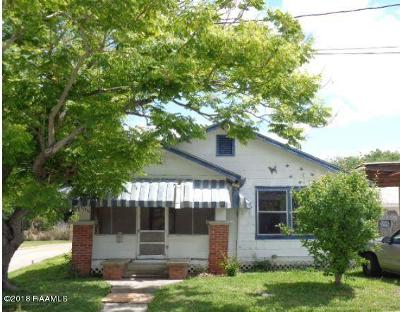 Morgan City Single Family Home For Sale: 1116 Front Street