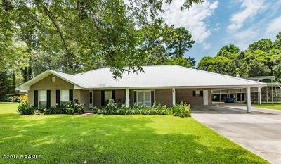 Lafayette Parish Single Family Home For Sale: 207 Rim Road Road