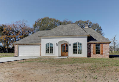 St Martinville, Breaux Bridge, Opelousas Single Family Home For Sale: 137 Seminole Lane