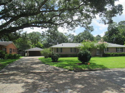 St Martinville, Breaux Bridge, Opelousas Single Family Home For Sale: 2055 Delmas Street