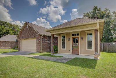 Carencro Single Family Home For Sale: 906 Pelican Ridge Cove