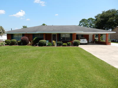 Erath Single Family Home For Sale: 704 Beau Chene
