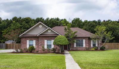 Carencro Single Family Home For Sale: 107 Whitetail Drive