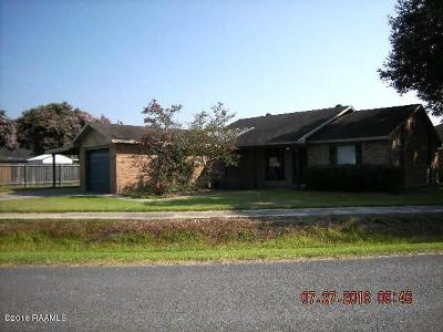 Carencro Single Family Home For Sale: 118 Ruffian Drive