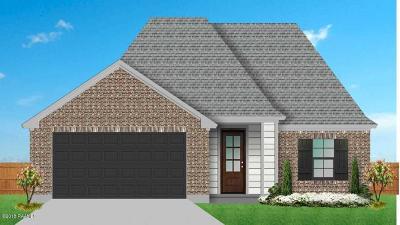 Carencro Single Family Home For Sale: 109 Tamer Drive