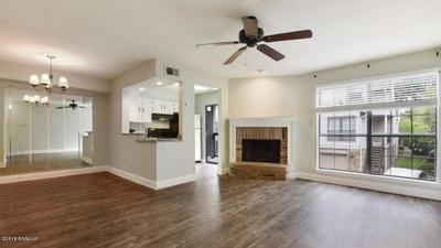 Lafayette Single Family Home For Sale: 1304 E East Bayou Parkway #8d
