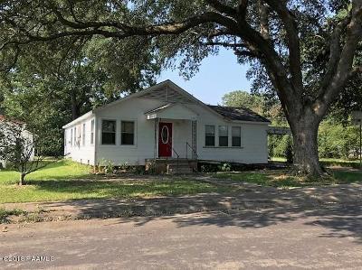 Ville Platte Single Family Home For Sale: 1259 Carbon Loop