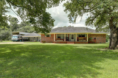 New Iberia Single Family Home For Sale: 4116 Old Jeanerette Road, #Lot 2