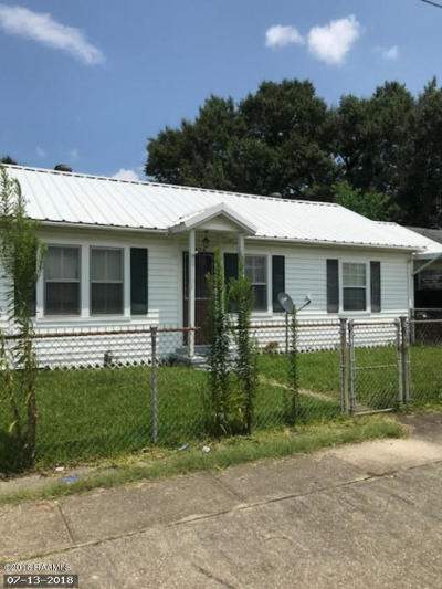 New Iberia Single Family Home For Sale: 406 Rouly Street