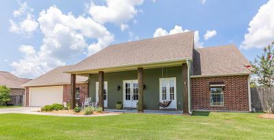 Duson Single Family Home For Sale: 117 Morganwood Lane