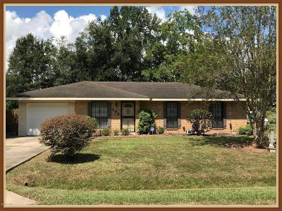 Carencro Single Family Home For Sale: 202 Lindsey Circle