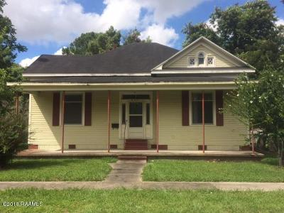 Lafayette Single Family Home For Sale: 406 S Sterling Street
