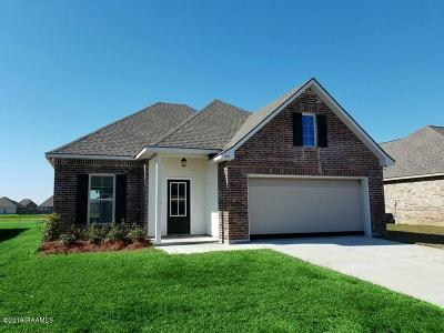 Duson Single Family Home For Sale: 211 Hunters Hill Drive