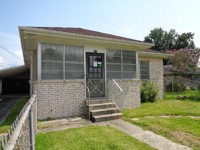 Morgan City Single Family Home For Sale: 121 Chennault Street
