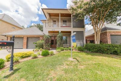 Lafayette Single Family Home For Sale: 110 King Ranch Drive