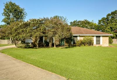St Martinville, Breaux Bridge, Abbeville Single Family Home For Sale: 16231 Langlinais Lane
