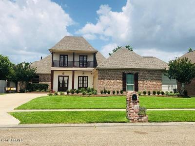 Lafayette Single Family Home For Sale: 120 Isaiah Drive