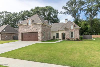 Lafayette Single Family Home For Sale: 136 Timberland Ridge Boulevard