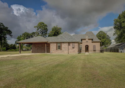 Carencro Single Family Home For Sale: 114 Ovide Road