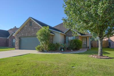 Carencro Single Family Home For Sale: 134 Saint Fabian Drive