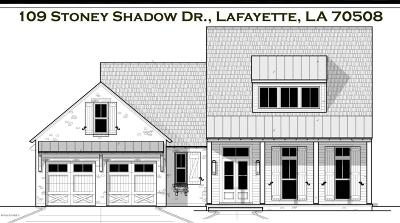 Lafayette Single Family Home For Sale: 109 Stoney Shadow Drive