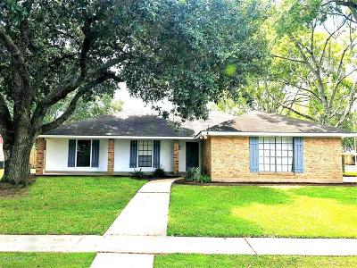 Broussard LA Single Family Home Sold: $174,900