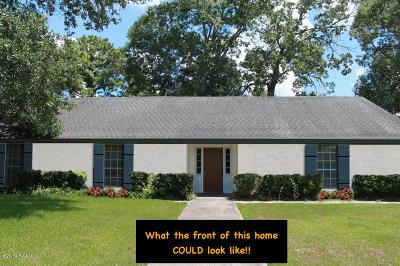 St Martinville, Breaux Bridge, Opelousas Single Family Home For Sale: 1701 Wilson Dr