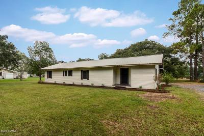 Breaux Bridge Single Family Home For Sale: 1062 Albert Calais Road