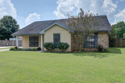New Iberia Single Family Home For Sale: 1606 Layne Drive