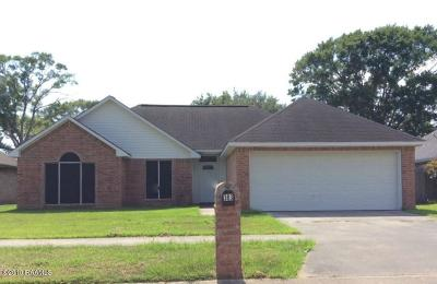 Carencro Single Family Home For Sale: 303 Rue Colombe