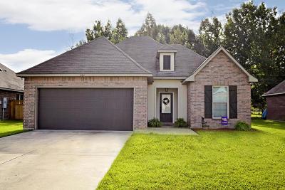 Carencro Single Family Home For Sale: 404 Magnolia Knee Drive